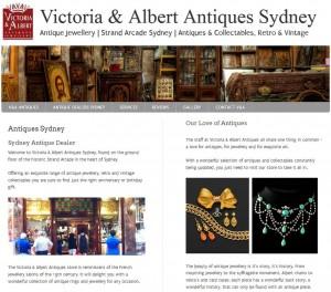 Victoria & Albert Antiques Sydney