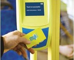 Melbourne Myki Card