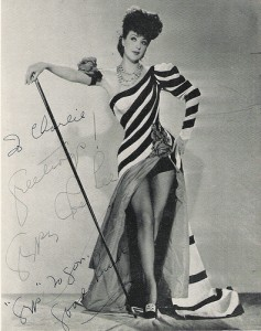 Gypsy Rose Lee 1930s