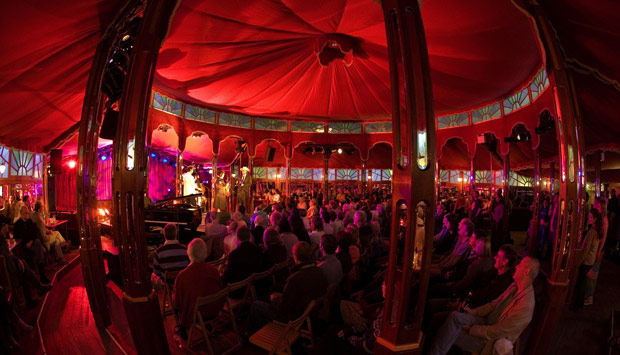 The Infamous History Of The Spiegeltent Vaudeville