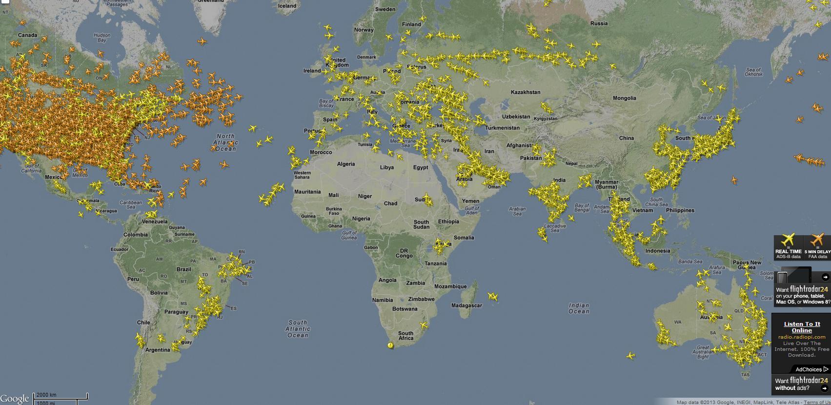 FlightRadar24 | Digital Editions