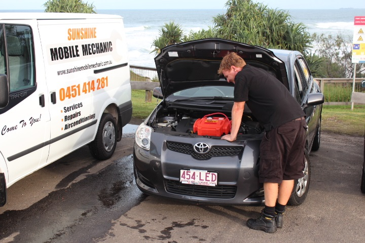 Mobile Mechanic Coolum Beach