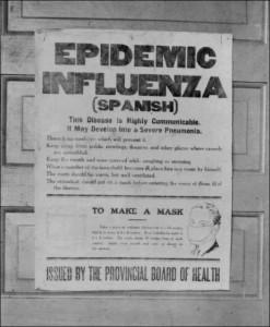 Influenza sign