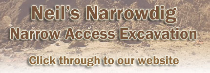 Narrow Access Excavation Central Coast