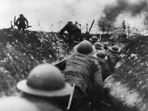 Soldiers in Battle of the Somme