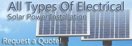 Solar Power Installation Darwin