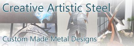 Steel Sculptures South Yarra