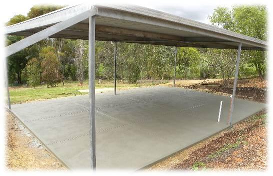 Stenciled Concrete North Adelaide