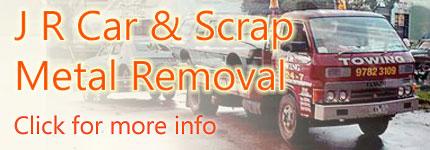 Scrap Metal Removal Melbourne