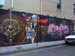 art graffiti project community Sydney removal