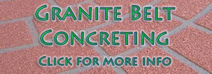 Stanthorpe Concreting