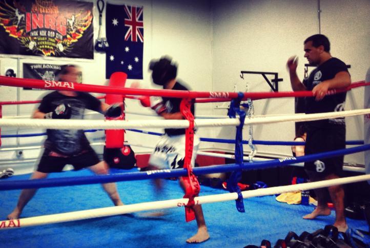Kickboxing Hills District