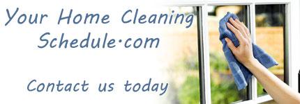 Online Cleaning Schedule Australia