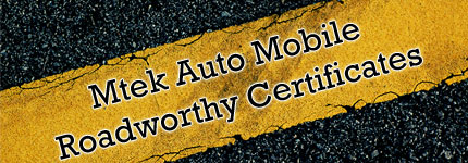 Mobile Roadworthy Certificates Gold Coast | Safety