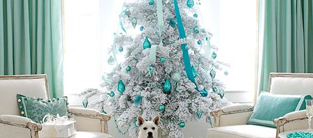 glam modern luxury christmas tree