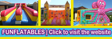Bouncy Castle Hire Midland | Bungee Run Ballajura | Water Slides ...