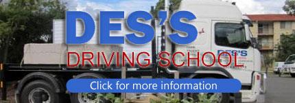 Truck Driving School Parramatta