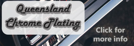 Chrome Plating Automotive Parts QLD