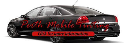 Mobile Tinting Mount Lawley