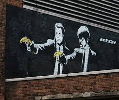 Banksy Pulp Fiction Banana Remix