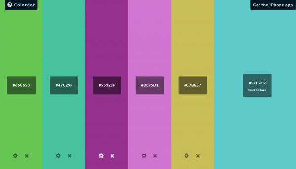 Colordot-online-colour-pallet-web-app-free