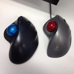 Logitech trackball-mouses